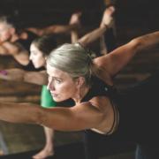 Kate Running Yoga Guru at First 42k
